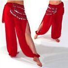 Belly Dance Costume See through Harem Pants Loose Elastic Waist Trousers