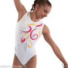 "Milano Pro Sport Gymnastic leotard 'Summer Bodice 161502' - Sizes 26""-36"" - New"