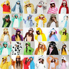 New Unisex Adult Pajamas Kigurumi Cosplay Costume Animal Onesie Sleepwear
