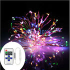 20m 200Leds Copper Wire LED String Starry Lights Wireless Control