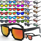 Pixel Design Sunglasses Vintage Classic 80S Mens Womens Uv00