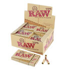 Authentic RAW Natural Unrefined Pre Rolled Filter Tips Rolling Card Roach Strips