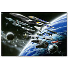 Star Trek Outer Space Movie Game Art Fabric Wall Poster 13x20 24x36inch 001 on eBay