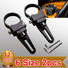 "1.25""-3"" Tube Bull/Roll Bar Mount Bracket Clamp Holder LED Off Road Work Light"