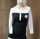 New Flying Colors Game Watcher Henley Alabama Black/White