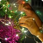 Origlam 4M 40LEDs Battery Operated Flexible Starry LED Copper Wire String Lights