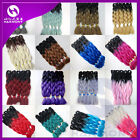 Lot Mixed Color Kanekalon Jumbo Braiding Synthetic Hair Extension Twist Braids