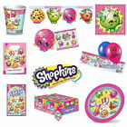 SHOPKINS PARTY DECORATIONS & TABLEWARE, NAPKINS, BALLOONS, BANNERS
