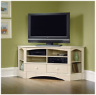Sauder Corner TV Stand 60 inch Console Table Credenza TV Stands for Flat Screens