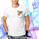 Joey Kangaroo in Pocket Watercolor Art T-shirt Youth - Adult