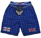N.I./NI/Northern Ireland/Novelty/Kilt/Tartan/Shorts/New
