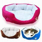 Dog Puppy Cat Teddy Pet Bed House Winter Soft Warm Comfy Fabric nytet
