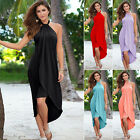 Sexy 2016 Womens Sleeveless Summer Beach Party Evening Cocktail Long Maxi Dress