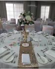 Wholesale Luxury Champagne Sequin Table Runners for Wedding Table,Choose Sizes