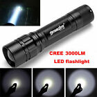 Focus 3000 Lumens 3 Modes CREE XML T6 LED 18650 Flashlight Torch Lamp Powerful <br/> ❤❤Same Quality Lowest Price❤Ship Today❤3-COLOR choose❤