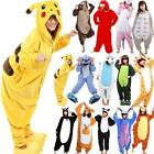 Adult Unisex Kigurumi Pajamas Animal Cosplay Costume Onesie Sleepwear Gift