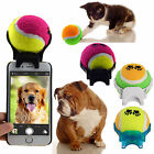 Selfie Stick Ball Phone Attachment For Pets Dog Cat Train Orange Green Purple