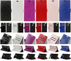 For Lenovo LG Meizu Wiko BQ Phone Crazy Horse Leather Wallet Card Case Cover HD