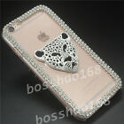 Bling Diamonds Crystal Pearls Thin Clear Soft TPU Back Shell Phone Cover Case 18