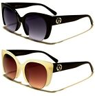 Womens Ladies Giselle Semirimles Cat Eye Oval Sunglasses UV400 Free Case 22093