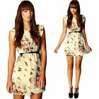 Womens Summer Casual Sleeveless Evening Party Beach Dress Short Mini Dress