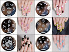 28Pcs Manicure hehe Nail Stamping Plates Stainless Steel Nail Art Stamp Template