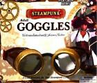 Adults Industrial Look SteamPunk Goggles Brown Explorer Scientist  Pilot Gothic