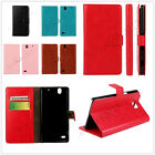 Woman/Man Luxury PU Leather Wallet Case Card Slot Stand Case Cover Skin For LG