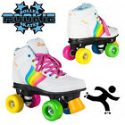 NEW Rookie Roller Skates Forever Rainbow Retro Style Girls Adults Junior VEGAN