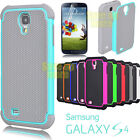 Armor Shockproof Rugged Rubber Hard Case Cover For Samsung Galaxy S4 S IV I9500