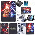 Star Wars The Force Awakens Leather Case Cover For iPad Mini Air iPad 2 3 4 HOT $14.24 AUD