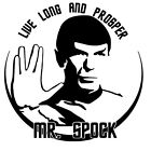 Leonard Nimoy Spock Vinyl Decal Sticker Car Window Bumper Wall Laptop Star Trek on eBay