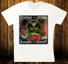 FLOTSAM AND JETSAM DOOMSDAY FOR THE DECEIVER NEW WHITE T-SHIRT 341