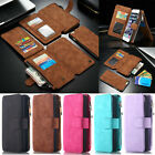 Flip PU Leather Magnetic Cover Multi-function Wallet Card Case For iPhone 6/6S/7