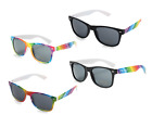 Colourful Gay Pride Drifter Rainbow Sunglasses - Wholesale