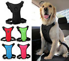 Soft Air Mesh Puppy Pet Dog Car Harness Safety for Dogs Travel 5 Colors S M L