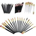 20pcs Powder Cosmetic Brushes Wool Toiletry Tool Set Makeup Brush Foundation