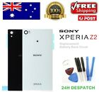 Sony Xperia Z2 L50W D6502 D6503 Back Rear Glass Housing Battery Cover Case Tools