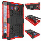 Shockproof Stand Hard Armor Case Cover For Nokia Microsoft Lumia 950 & 950 XL