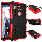 Heavy Tough Shockproof Stand Hard Armor Case Cover For Google LG Nexus 5X/5 2015