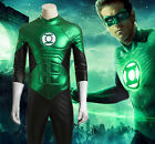Green Lantern Cosplay Costume Full Set Customized Halloween Clothing