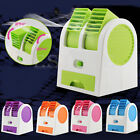 Mini Small Fan Cooling Portable USB Desktop Dual Bladeless Air Conditioner New