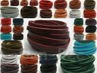 Flat Genuine Hide Leather Cord Thong DIY Jewelry Crafts 3mm 4mm 5mm options