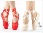 AU SELLER Girls Ladies Satin Professional Ballet Dance Toe Pointe Shoes da015