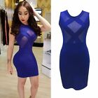 NEW Women's Bandage Bodycon Summer Evening Cocktail Party Sleeveless Mini Dress