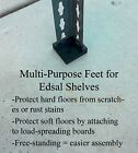 Multi-Purpose Feet for Edsal Shelves