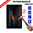 2Pcs Premium Real Tempered Glass Film Screen Protector For Sony Xperia Z4 Z3 Z2