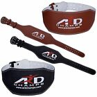 "Внешний вид - ARD CHAMPS™ Weight Lifting 6"" Leather Belt Back Support Strap Gym Power Training"