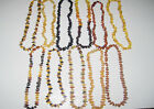 Natural Baltic Amber  Baby NECKLACE  13 inch - Choose your color!!!