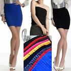 AU SELLER Celeb Style Womens Girls Bodycon Mini Skirt/Tube Top SZ S-M dr117